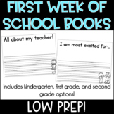 First Week of First Grade Books