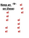 """First Week of German 1: Pronunciation of """"ei"""" and """"ie"""""""