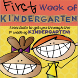 First Week of Kindergarten!