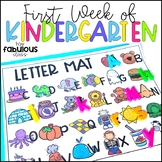 First Week of Kindergarten