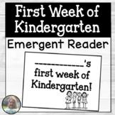 First Week of Kindergarten Booklet
