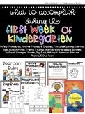 First Week of Kindergarten Survival Guide - Back to School Activities