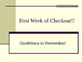 First Week of Library Checkout