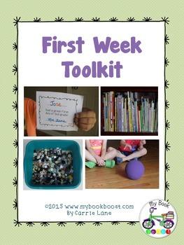 First Week of School Toolkit