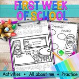 First Week of School Activities | Back to School | ESL| En