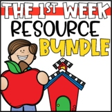First Week of School Activities | Back to School Math & ELA Activities