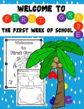 First Week of School Activities:  First Grade