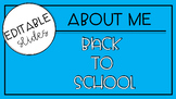 First Week of School Activities Pack