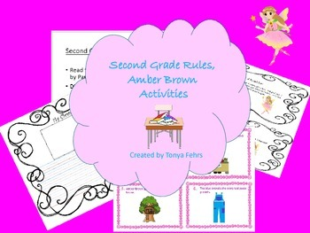 First Week of School:  Second Grade Rules, Amber Brown