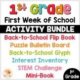First Week of School Activities for 1st Grade | Back to Sc
