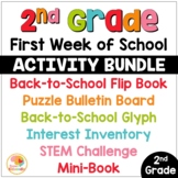 First Week of School Activities for 2nd Grade