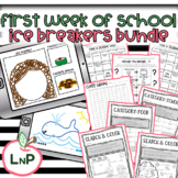 First Week of School Activities with Student Ice Breakers
