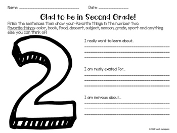 FREEBIE! First Week of School Activity