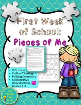 First Week of School- Community Building and Getting-to-know Activity
