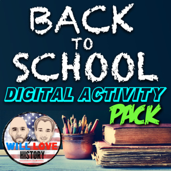 First Week of School Activity Bundle for the United States History Classroom