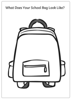 First Week of School Activity Set (Worksheets, Coloring Sheets and Games)