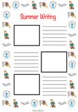 First Week of School Activity Set (Worksheets, Coloring Sh