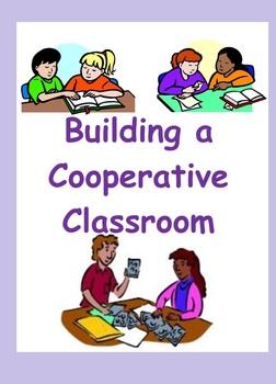 First Week of School: Building  Cooperative Classroom (Intermediate)