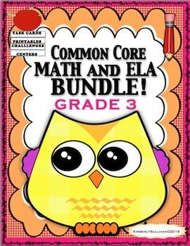 Fall Review Morning Work Bundle Math and Language Arts  Pr