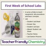 Chemistry Labs: First Week of School Lab Series