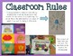 First Week of School Classroom Rules Book (with Monsters)