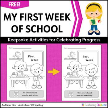 First Week of School / Last Week of School Comparisons