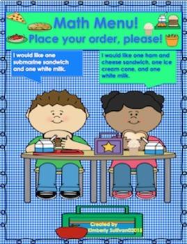 Bundle Math Money Word problems Task Cards Game