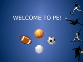 First Week of School PE Lesson Plan