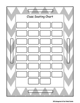 First Week of School Quick Survival Kit Chevron Pattern Freebie