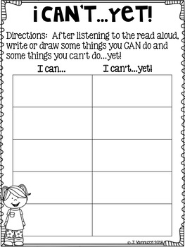 First Week of School Reading Response Sheets