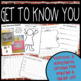 First Week of School Resources {Back to School Night and C