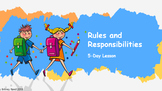 First Week of School Social Studies: Powerpoints / Handouts (Rules and Rights)
