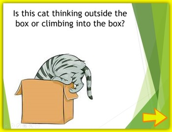 First Week of School - Thinking Outside the Box