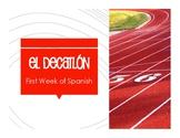 First Week of Spanish Decathlon