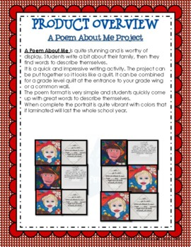 First Weeks: A Poem About Me Project