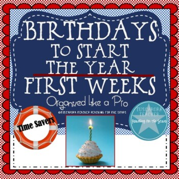 First Weeks: Birthdays to Start Your Year