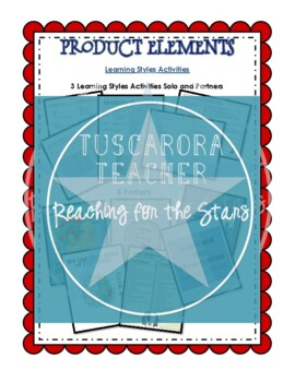 First Weeks: Learning Styles Activities