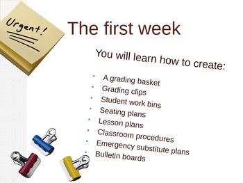 First Weeks Of Art Class