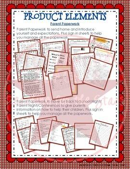 First Weeks: Parent Paperwork