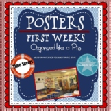 First Weeks: Posters