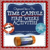 First Weeks: Time Capsule