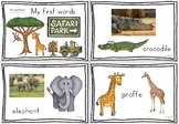 First Words African Animals Free