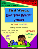 First Words: Emergent Reader Stories