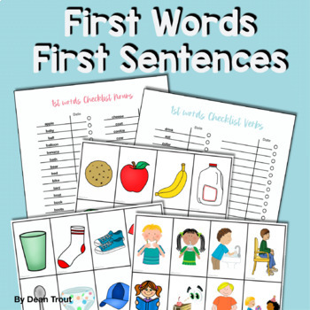 First Words, First Sentences Birth to 3