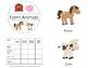 First Words Mini Books - Farm Animals