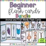 First Words and Animal Cards Bundle