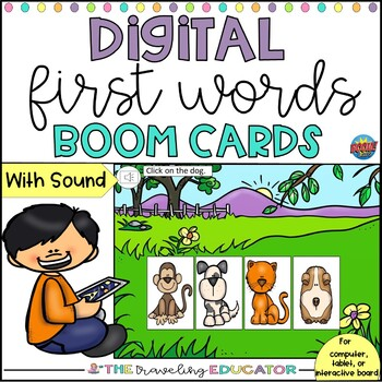 First Words for Beginners Boom Cards