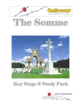First World War - Somme Study Pack