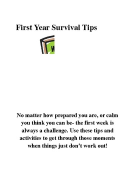 First Year Survival