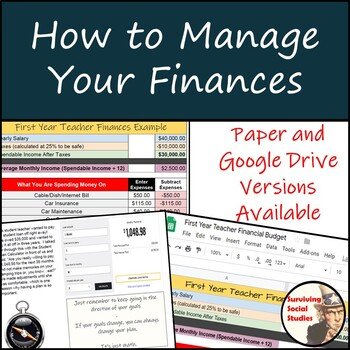 How to Manage Your Finances - FREE!